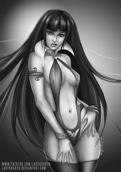Vampirella - Clothes version by LadyKraken