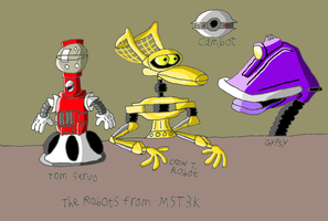 MST3K: Robot Roll Call by maniacaldude