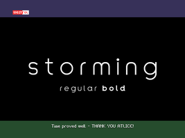 Storming by WestralInc