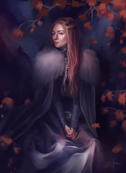 Queen in the North by SandraWinther