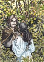 Of Beren and Luthien by Calealdarone