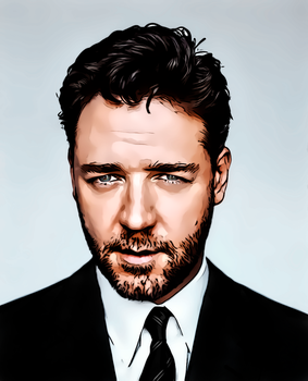 Russell Crowe by donvito62