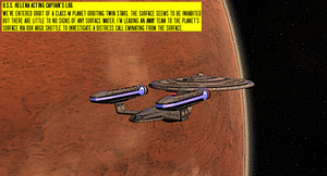 STO vs TOR The Dark Frontier Comic Panel by SpiderTrekfan616