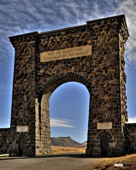 Entrance to Yellowstone A by Pavloff-Photos