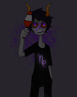 sober gamzee by mikieel