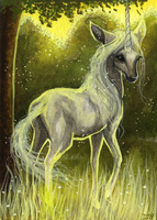 ACEO Ancient One by DawnUnicorn