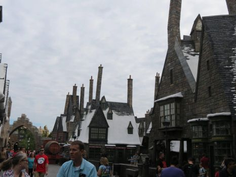 hogsmeade village harry potter by Sceptre63