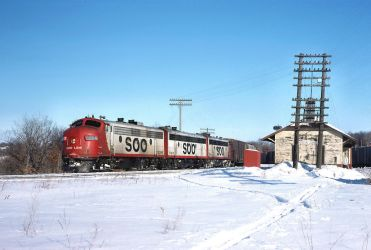 SOO Line 2228A Freight Train by ROGUE-RATTLESNAKE