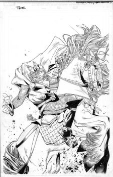 thor 8 variant cover by MarkMorales