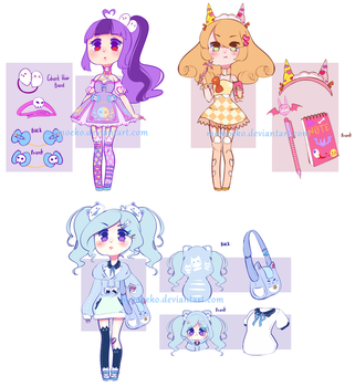 Grummpy Pastel Female Auction [OPEN] EXTRA by Momoeko