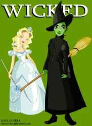 WICKED, the Musical by chicourano