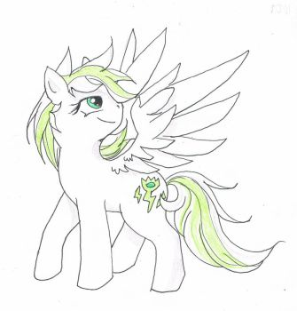 Commission: Toxic Bolt by reannaking