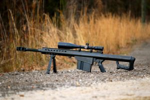 Sniper Rifle Barret M82 by jerry04