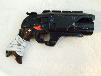Nerf 'Aerith S.A.A' single action army Hammershot by marqleon
