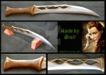 Tauriel daggers by Speak-chopnese