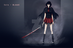 Saya Blood C Black by mezwik