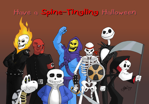 Have a Spine-Tingling Halloween by DubyaScott