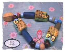OWL Beads by TeapotMysteries