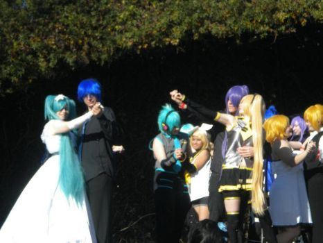 Vocaloid couples - SacAnime 2012 - 1 by Megof05