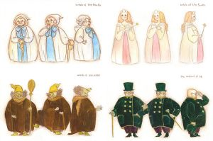 wizard of oz characters by wakato90