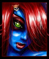 young Mystique by Sileas