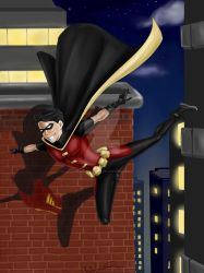 Young Justice - Robin The Flying Grayson by TerraForever