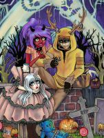 Gift~Trick or ... by Harmony-Walls