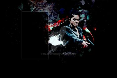 COMMISSIONED BACKGROUND 2 / OCTAVIA BLAKE by magpiepsd