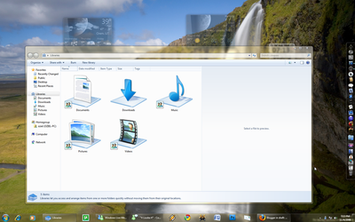 Windows 7 Ultimate Super bar by ozl