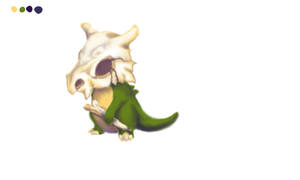 Cubone by BaY-lee