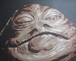 Jabba the Hutt by Papergizmo