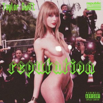 Taylor Swift-Reputation Cover Artwork2 [Censored] by ArtConcept777