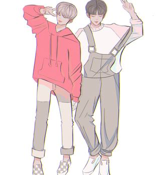 VKOOK OUTFITS by SugaShook