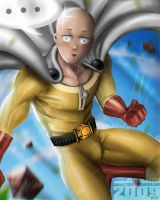 ONE punch man by axouel2009