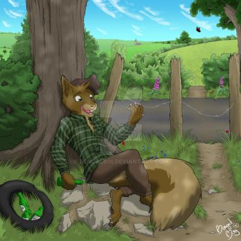 YCH Charity Auction: Acorn Ale by BengalBoi