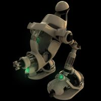 Speed Modeled Mech by Cool-Clothes