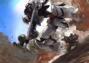 Iron-Blooded Orphans by Azusa-maxima