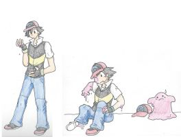 Ash into Ditto by RaiinbowRaven