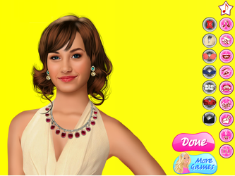 Demi Lovato Real Makeover Games by willbeyou