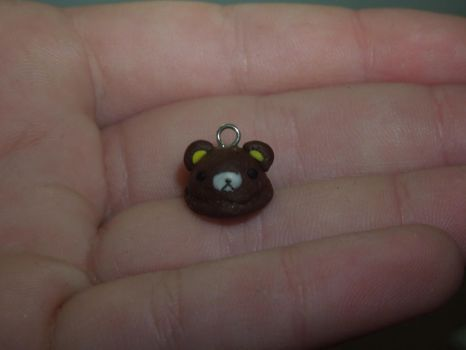 Bear Icecream   Polymer Clay   PastelClayCharms by theblondeunicorn