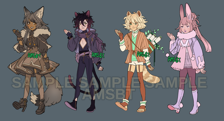 ADOPTABLES FOR SALE!! First Come First Serve by AMSBT