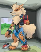 Ash Tf to a Arcanine by Nightfirer