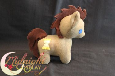 Dr. Whooves Plush by NsomniacArtist