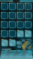 JARVIS MARK 3 - IPHONE 5 HOMESCREEN WALLPAPER by hyugewb