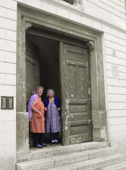 gate grannies by DTarch
