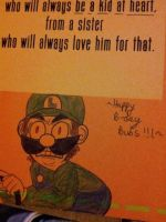 Luigi Death Stare by Millie-Rose13