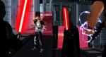 Cole MacGrath vs Darth Vader by WOLFBLADE111