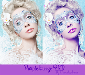 Purple Breeze PSD by chiccaherbana
