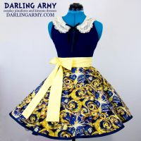 Exploding TARDIS Doctor Who Cosplay Skirt by DarlingArmy