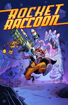 Rocket Raccoon Cover by BobbyBaxter